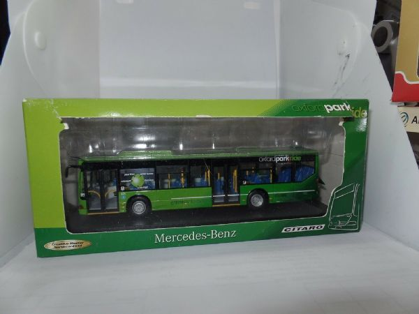 CMNL UKBUS5002 Mercades Citaro Ridgid Bus Oxford Bus Co Park & Ride Green Torn